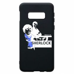 Чехол для Samsung S10e Sherlock (Шерлок Холмс)
