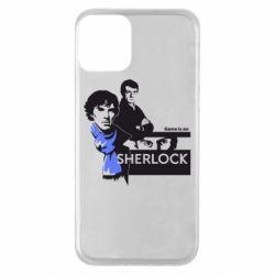 Чехол для iPhone 11 Sherlock (Шерлок Холмс)