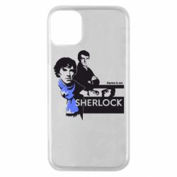 Чехол для iPhone 11 Pro Sherlock (Шерлок Холмс)