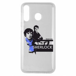 Чехол для Samsung M30 Sherlock (Шерлок Холмс)