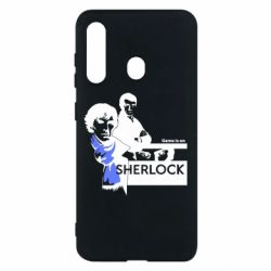 Чехол для Samsung M40 Sherlock (Шерлок Холмс)