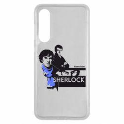 Чехол для Xiaomi Mi9 SE Sherlock (Шерлок Холмс)