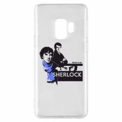 Чехол для Samsung S9 Sherlock (Шерлок Холмс)