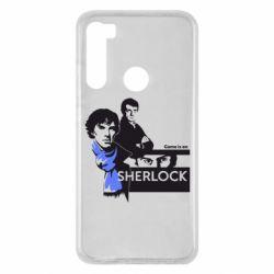 Чехол для Xiaomi Redmi Note 8 Sherlock (Шерлок Холмс)