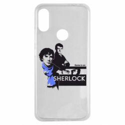 Чехол для Xiaomi Redmi Note 7 Sherlock (Шерлок Холмс)