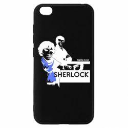 Чехол для Xiaomi Redmi Go Sherlock (Шерлок Холмс)
