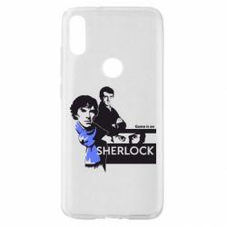 Чехол для Xiaomi Mi Play Sherlock (Шерлок Холмс)