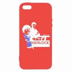 Чехол для iPhone5/5S/SE Sherlock (Шерлок Холмс)