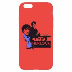 Чехол для iPhone 6/6S Sherlock (Шерлок Холмс)