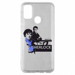 Чехол для Samsung M30s Sherlock (Шерлок Холмс)