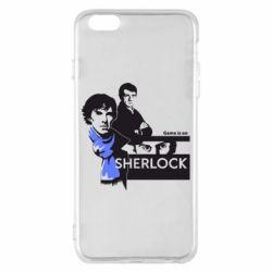 Чехол для iPhone 6 Plus/6S Plus Sherlock (Шерлок Холмс)