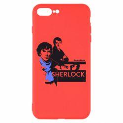 Чехол для iPhone 7 Plus Sherlock (Шерлок Холмс)