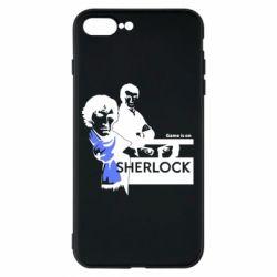Чехол для iPhone 8 Plus Sherlock (Шерлок Холмс)