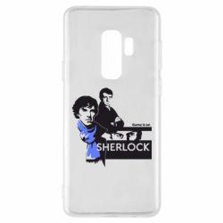 Чехол для Samsung S9+ Sherlock (Шерлок Холмс)
