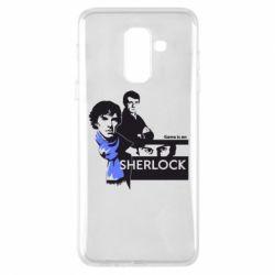 Чехол для Samsung A6+ 2018 Sherlock (Шерлок Холмс)