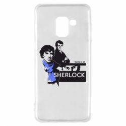 Чехол для Samsung A8 2018 Sherlock (Шерлок Холмс)