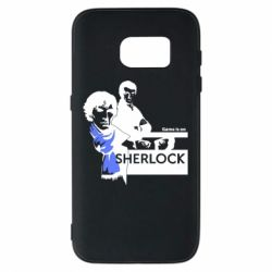 Чехол для Samsung S7 Sherlock (Шерлок Холмс)