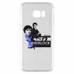 Чехол для Samsung S7 EDGE Sherlock (Шерлок Холмс)