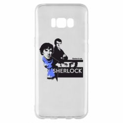 Чехол для Samsung S8+ Sherlock (Шерлок Холмс)