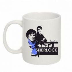 Кружка 320ml Sherlock (Шерлок Холмс) - FatLine
