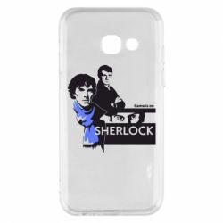 Чехол для Samsung A3 2017 Sherlock (Шерлок Холмс)