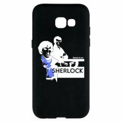 Чехол для Samsung A5 2017 Sherlock (Шерлок Холмс)