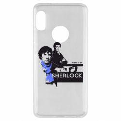 Чехол для Xiaomi Redmi Note 5 Sherlock (Шерлок Холмс)