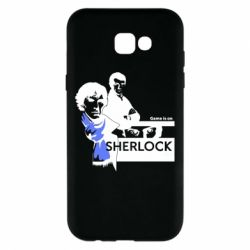 Чехол для Samsung A7 2017 Sherlock (Шерлок Холмс)
