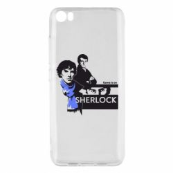 Чехол для Xiaomi Mi5/Mi5 Pro Sherlock (Шерлок Холмс)
