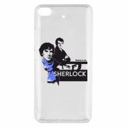 Чехол для Xiaomi Mi 5s Sherlock (Шерлок Холмс)