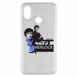 Чехол для Xiaomi Mi8 Sherlock (Шерлок Холмс)