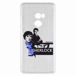 Чехол для Xiaomi Mi Mix 2 Sherlock (Шерлок Холмс)