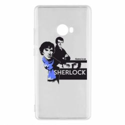Чехол для Xiaomi Mi Note 2 Sherlock (Шерлок Холмс)