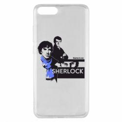 Чехол для Xiaomi Mi Note 3 Sherlock (Шерлок Холмс)