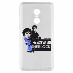Чехол для Xiaomi Redmi Note 4x Sherlock (Шерлок Холмс)