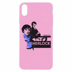 Чехол для iPhone X/Xs Sherlock (Шерлок Холмс)