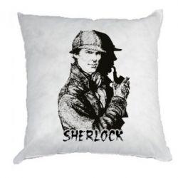 Подушка Шерлок рисунок