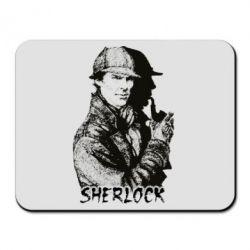 Коврик для мыши Шерлок рисунок
