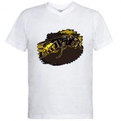 Купить Мужская футболка с V-образным вырезом Shershen, FatLine