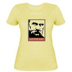 Женская футболка Шевченко (Obey) - FatLine