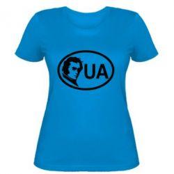 Женская футболка Shevchenko UA - FatLine
