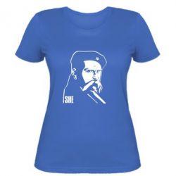 Женская футболка Sheвченко