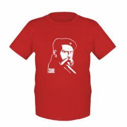 Детская футболка Sheвченко - FatLine