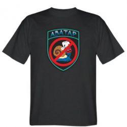 Мужская футболка Шеврон Анти Аватар - FatLine