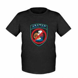 Детская футболка Шеврон Анти Аватар - FatLine