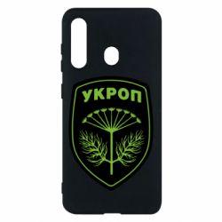 Чехол для Samsung M40 Шеврон Укропа