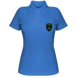 Женская футболка поло Шеврон Укропа - FatLine