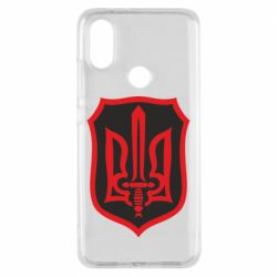 Чехол для Xiaomi Mi A2 Shield with the emblem of Ukraine and the sword