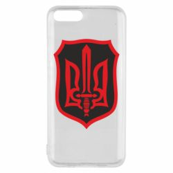 Чехол для Xiaomi Mi6 Shield with the emblem of Ukraine and the sword