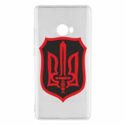 Чехол для Xiaomi Mi Note 2 Shield with the emblem of Ukraine and the sword